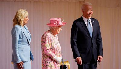 Joe and Jill Biden Meet Queen Elizabeth for Tea at Windsor Castle