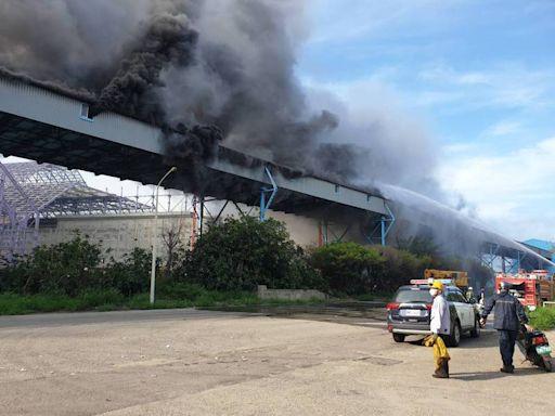 中火煤倉輸送帶起火影響空品 中市府重罰500萬元