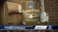 Supply chain problems impacting local painter