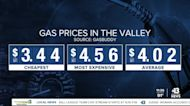 Report: Average gallon of gas remains $4+ in Las Vegas