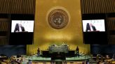 Abbas tells U.N. Israeli actions could lead to 'one state'