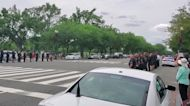 Procession Held After Officer Killed in Violence Outside Pentagon Building, Reports Say