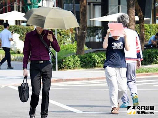 好熱!今天台南、高雄有機會飆升38度   生活   NOWnews今日新聞