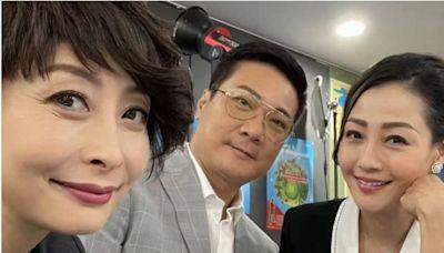 錢嘉樂與湯盈盈客串《青春本我》楊玉梅:跟老朋友工作非常開心
