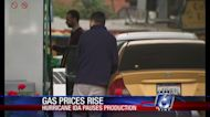 Gas prices expected to soar because of Ida