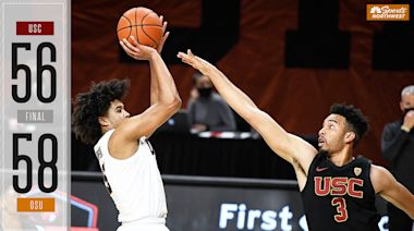 Oregon State MBB snaps USC's six-game win-streak with huge victory