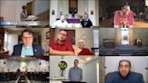 Preaching the Easter sermon via video services. 'We're all learning,' pastors say