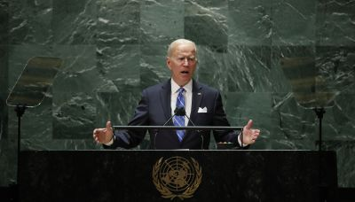 Biden vows to beat COVID, tackle climate change in debut speech to UN General Assembly