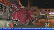 Powerful Winds Whip Through SoCal, Toppling Trees, Street Signs