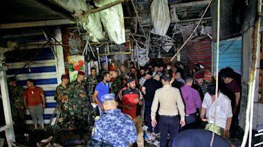 伊拉克市集自殺炸彈攻擊近30死 IS宣稱犯案 | 全球 | NOWnews今日新聞