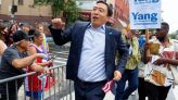Andrew Yang Gets Dragged For 'Top Gun' Political Party Logo