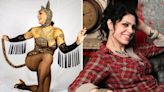 American Pickers' Danielle Colby dresses up in sexy cat costume with stockings