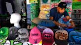 Airbrush artist captures colors of West Texas Fair & Rodeo with his custom T-shirts