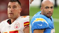 Travis Kelce and Austin Ekeler on the 2021 AFC West