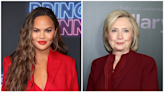 Chrissy Teigen Feels 'So Honored' After Hillary Clinton Shares Her Essay on Pregnancy Loss