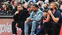 Drake's shenanigans highlight best moments from Raptors' return to Toronto