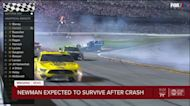 Ryan Newman suffers serious, not life-threatening injuries from crash during Daytona 500