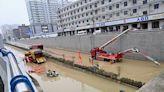 鄭州地鐵淹水 兩岸軌道預警比一比
