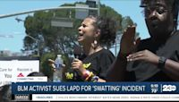 Black Lives Matters activist sues Los Angeles Police Department over alleged 'swatting' incident