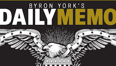 Byron York's Daily Memo: Biden approval showing 'first signs of meaningful decline'