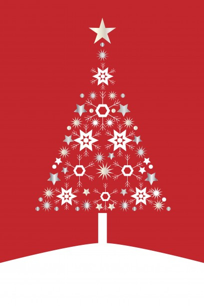 Christmas Tree Card Modern Free Stock Photo - Public Domain Pictures