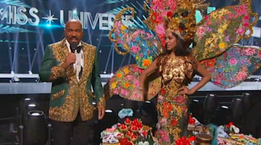 Steve Harvey blames teleprompter for embarrassing mistake at Miss Universe 2019