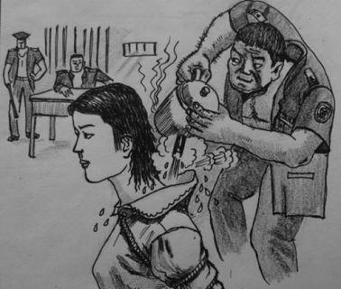 錦州老人在遼寧女監遭沸水燙背