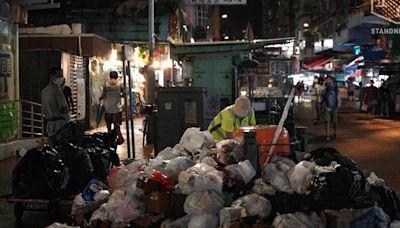 【颱風圓規】記八號風球下緊守崗位的打工仔 個別清潔工無補水 | 立場報道 | 立場新聞