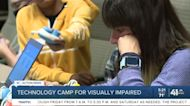 Technology camp for visually imparied