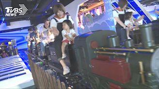 讓大人專心吃飯!餐廳築室內小火車PK豪華遊戲室