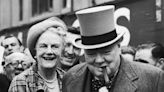 Clementine Churchill loved caricature of Prime Minster husband as a rotund smoker, note reveals