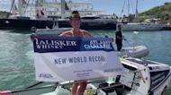 World record broken in solo row across Atlantic