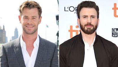 Chris Hemsworth Trolls Chris Evans on His Birthday by Posting Snap with Chris Pratt: 'Number 1 in My Book'