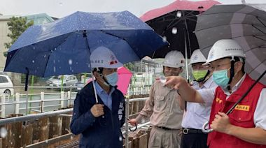 視察前鎮漁港下水道工程 林欽榮:預計明年9月底前完成