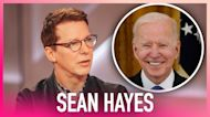 Sean Hayes Blown Away By Joe Biden's 'Will & Grace' Comment