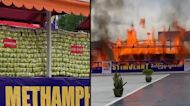 Almost $1 Billion Worth of Drugs Set on Fire in Myanmar