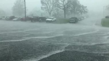 'What the Hail?': Storms and Powerful Winds Hit Lebanon, Missouri