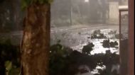 Tropical Storm Zeta Brings Heavy Rainfall to Playa del Carmen