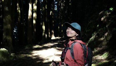 阿里山林鐵眠月線爆紅重開放 Selina登爬5小時大讚好美