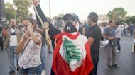 Soldiers clash with protesters at march for justice over Lebanon port blast