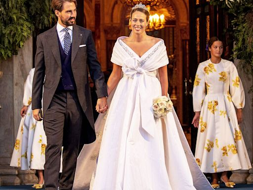 Princess Diana's Godson Prince Philippos of Greece Marries Wife Nina Flohr for Third Time in Athens
