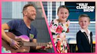 Chris Martin and Kelly's Kids Duet Hilariously Interrupted For Bathroom Break