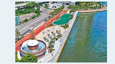 荃灣海濱單車徑啟用 長2.3公里
