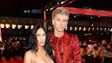 Megan Fox Wears Naked See-Through Dress Arriving to 2021 MTV VMAs with Machine Gun Kelly