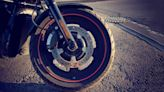 Motorcyclist dies at hospital after crash, coroner says
