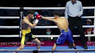 Nicaraguan boxers compete in front of spectators despite COVID-19 pandemic threat