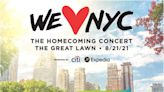 Mayor de Blasio announces 'WE LOVE NYC: The Homecoming Concert' with legendary line-up