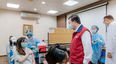 醫師專業評估後施打疫苗 鄭文燦視察桃園孕婦疫苗施打專案   台灣好新聞 TaiwanHot.net