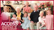 Queen Elizabeth & Prince Philip Pose With 7 Great-Grandchildren In Newly Released Photo