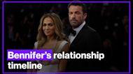 Jennifer Lopez and Ben Affleck's official relationship timeline